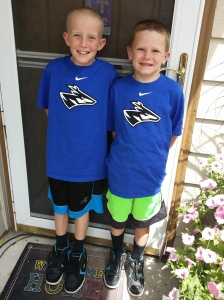 Our boys are 9 and 6 this year.